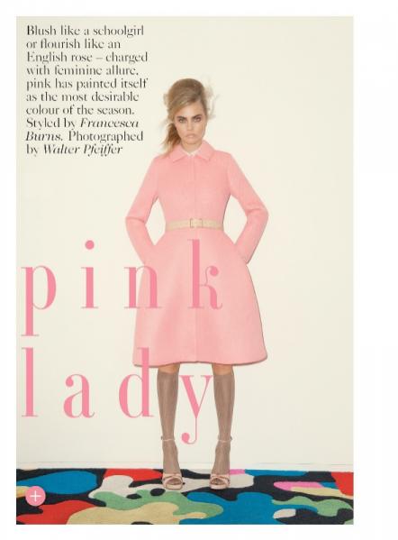Cara Delevingne Vogue UK wrzesień 2013