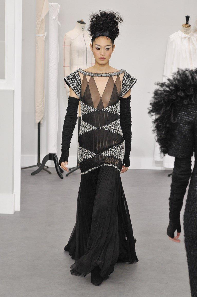 Suknia Chanel