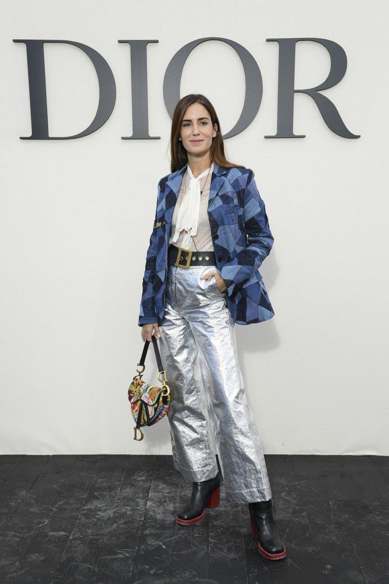 Moda uliczna po pokazie Dior wiosna lato 2019