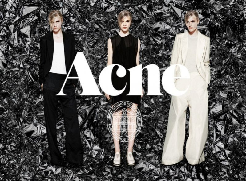 Acne Capsule Collection jesień zima 2012