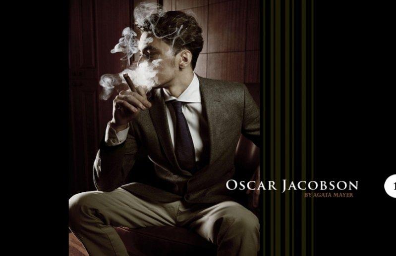 nowa sesja Agaty Mayer dla szwedzkiej marki Oscar Jacobson