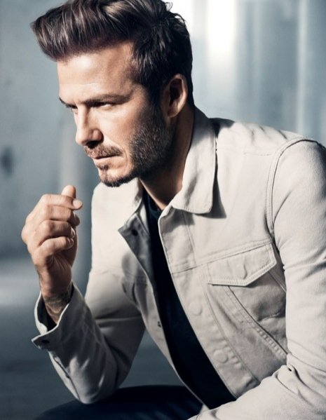 1. David Beckham w kampanii promującej linię Modern Essentials selected by David Beckham