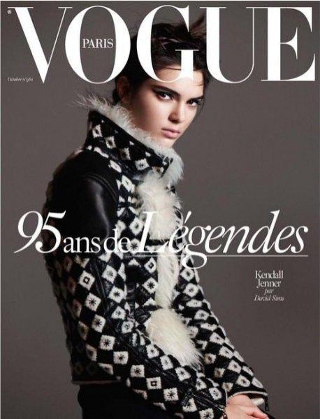 Kendall Jenner na okładce Vogue Paris