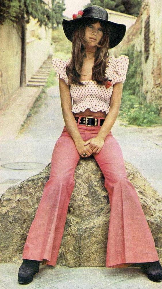 Moda w latach 70.
