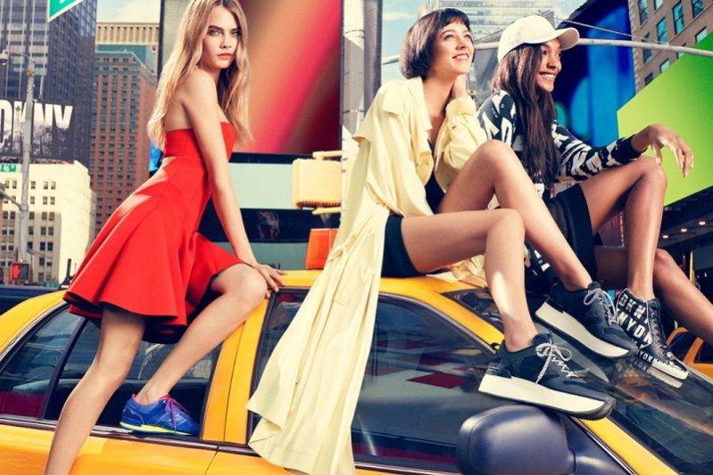 1. DKNY wiosna lato 2014