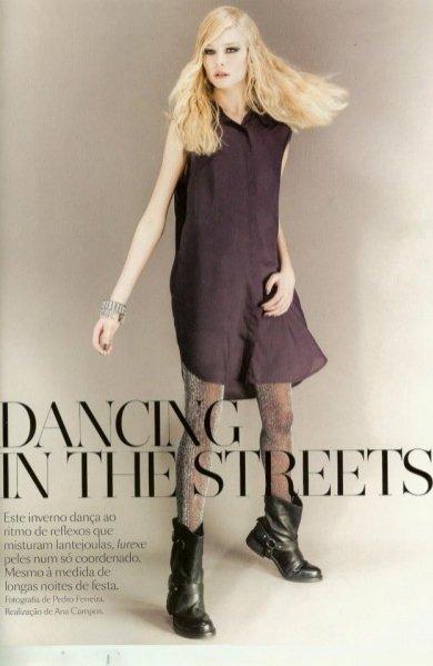Karolina Bień w styczniowym Vogue Portugal