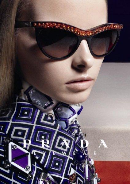 Kolekcja okularów Prada Portrait jesień-zima 2012