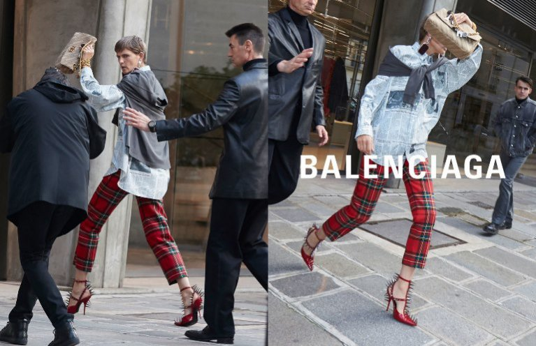 Balenciaga (Womenswear) SS18 - fot. Best Image Agency