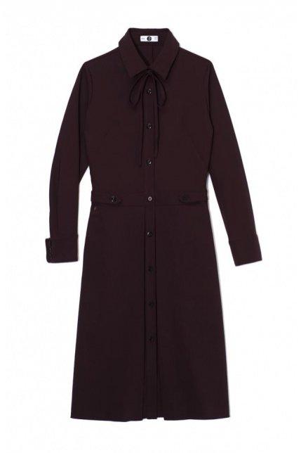 1. Sukienka z kontrafałdą, Outfit Format, BoutiqueLaMode.com