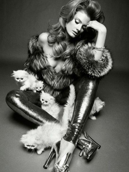 Constance Jablonski w Vogue Italia