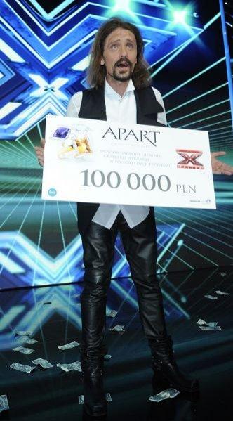 Gienek Loska - finał programu X-Factor