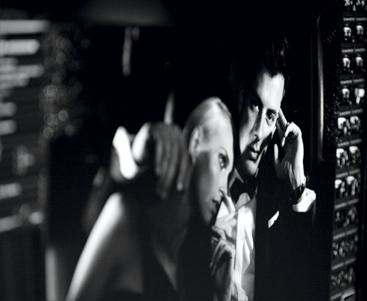 """backstage kampanii zapachu """"Fan di Fendi pour homme"""""""