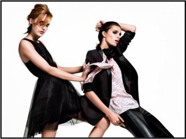 Karolina Wąż w kampanii reklamowej H&M