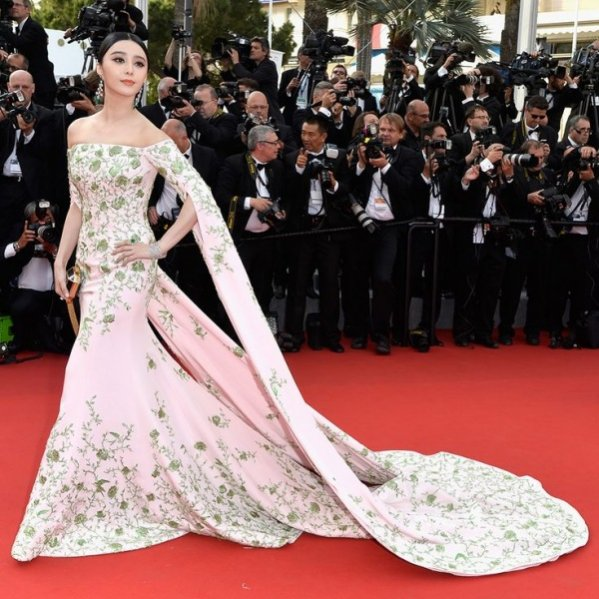 Ranking Best Dressed Vanity Fair 2015 - Fan Bingbing, aktorka