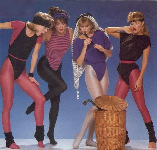 Historia mody - lata 80.