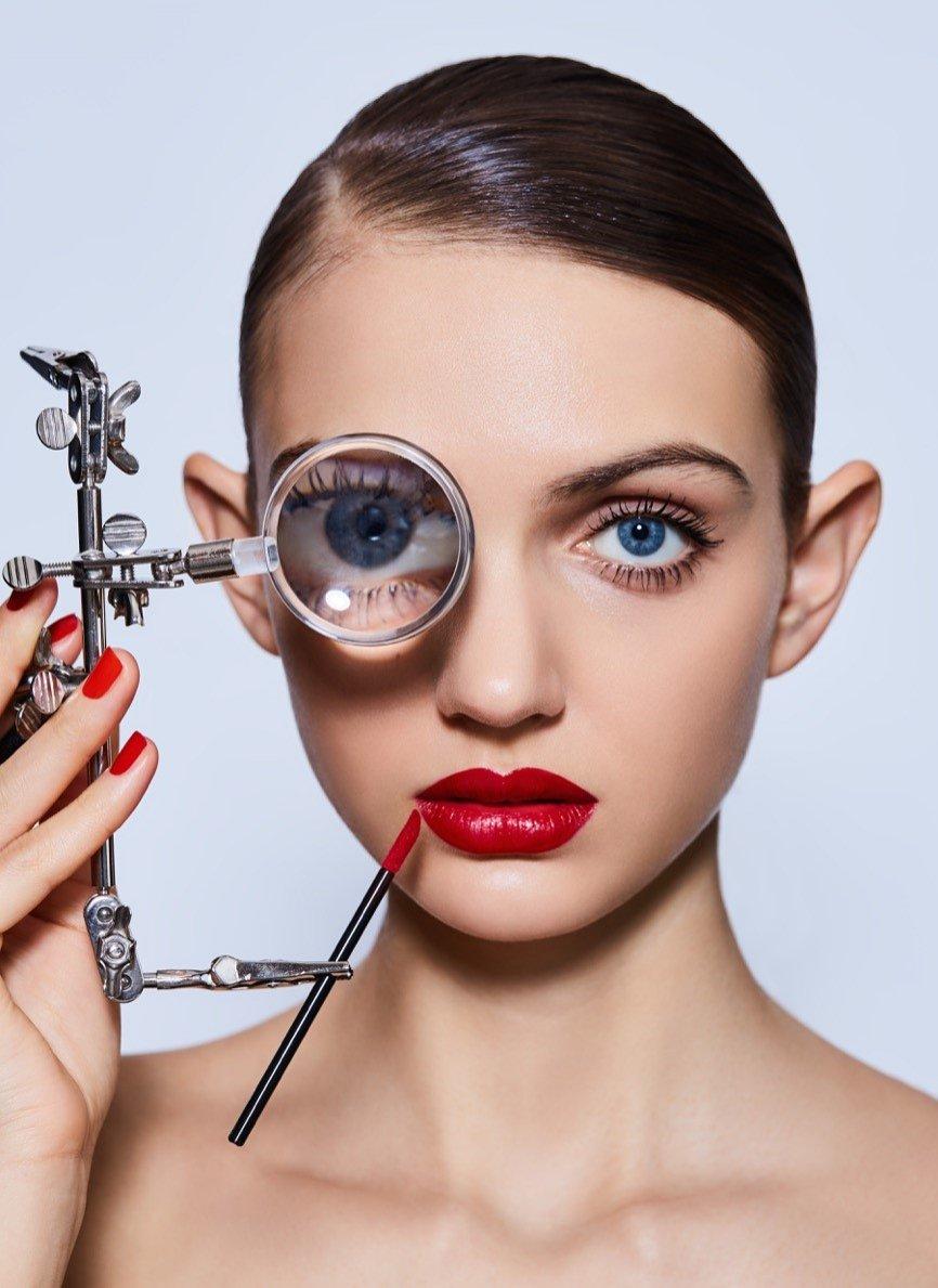 Aleksandra Gworys w sesji beauty