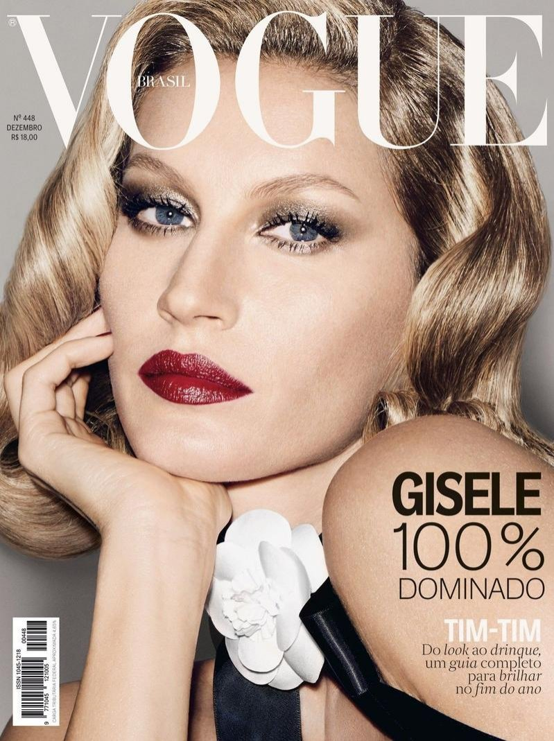 Gisele Bundchen na okładce Vogue Brasil