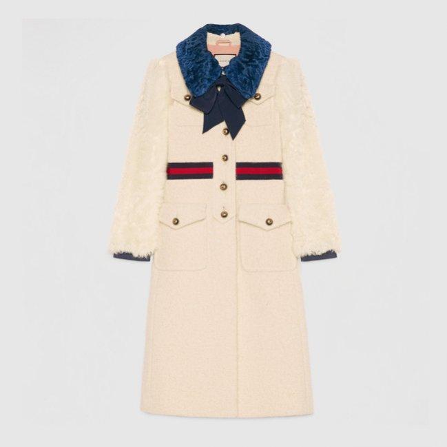 Płaszcz Gucci (ok. 21 715 zł)