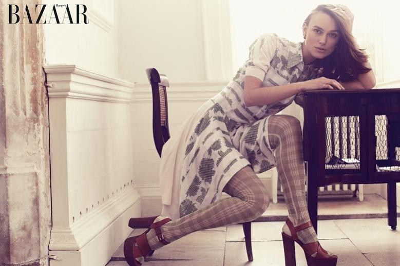 1. Keira Knightley dla Harper's Bazaar UK luty 2014