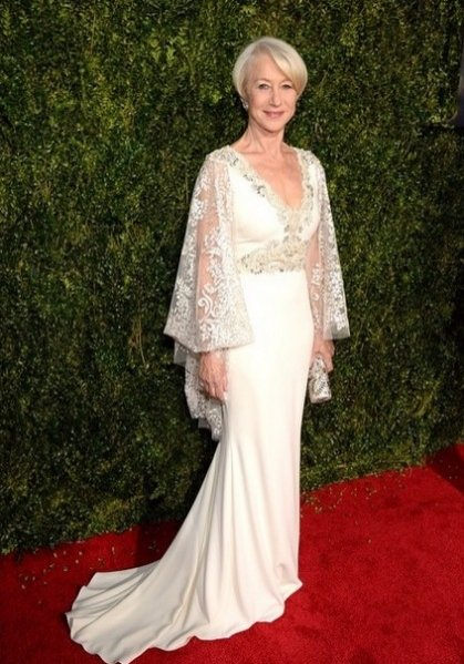 1. Helen Mirren - Badgley Mischka