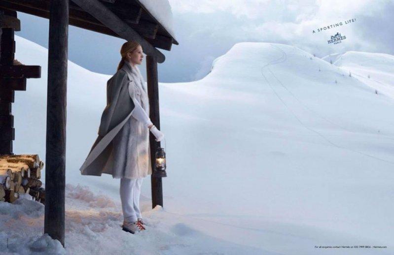 Hermès – kampania jesień zima 2013/2014