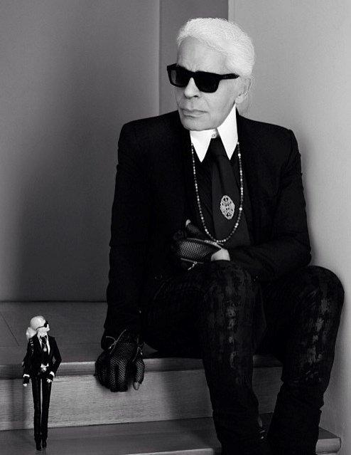 1. Styl Karla Lagerfelda