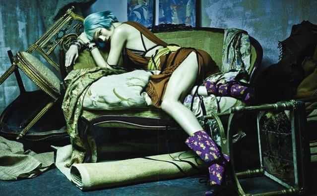 1. Kasia Struss w Vogue Korea luty 2014