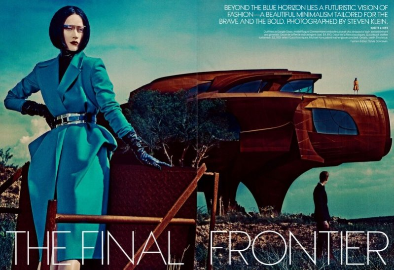 The Final Frontier - Vogue US, wrzesień 2013