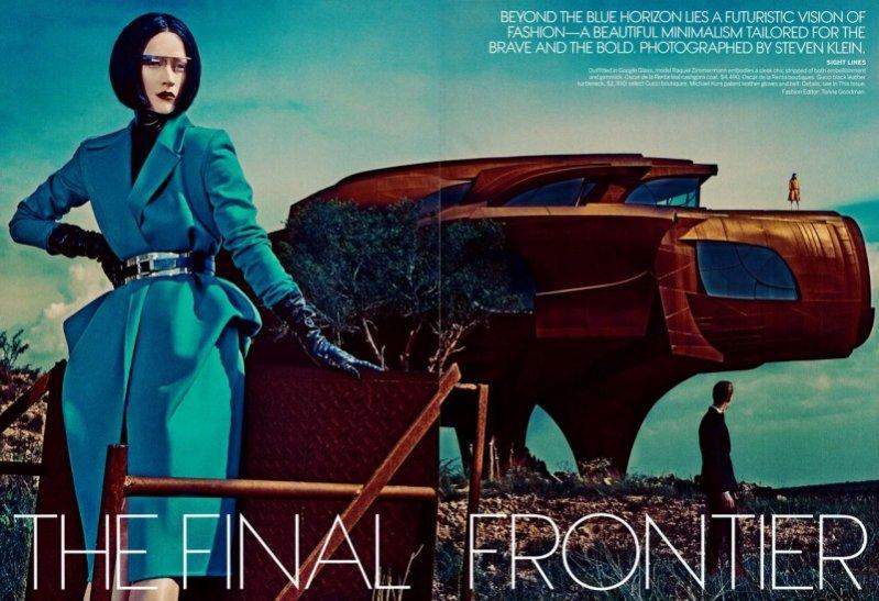 The Final Frontier - Vogue US, wrzesień 2013
