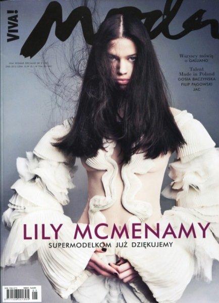 Lily McMenamy - Viva! Moda zima 2013