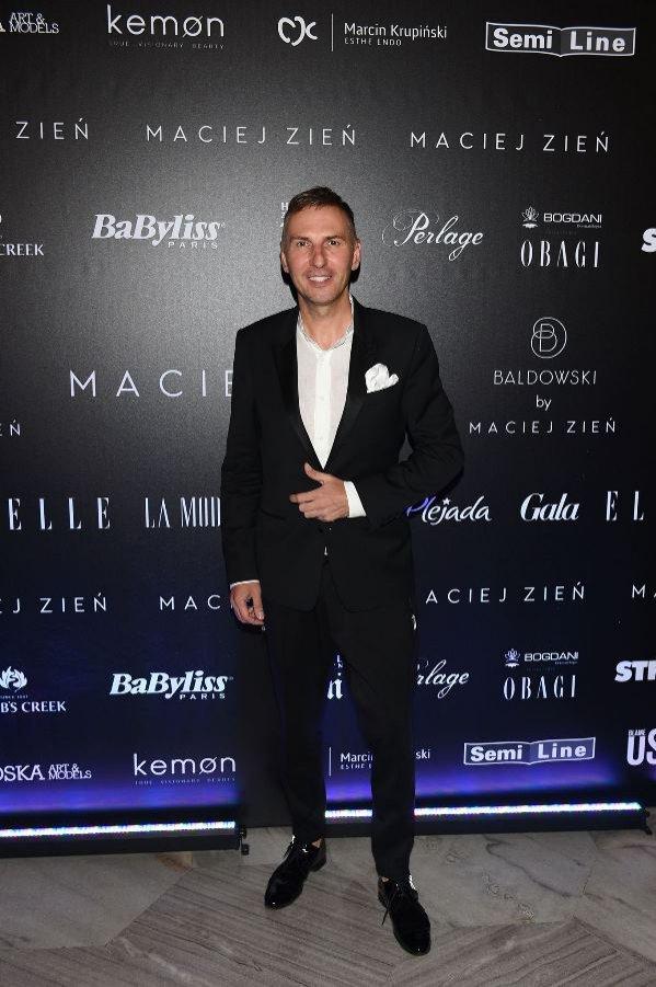 Gwiazdy na pokazie First Lady Macieja Zienia - Krzysztof Gojdź