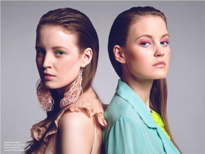1 Magda i Ola Józwowskie - nowe twarze agencji WAVE models