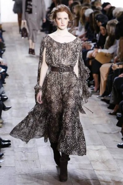 Magdalena Jasek - pokaz Michael Kors jesień zima 2014/2015 na New York Fashion Week