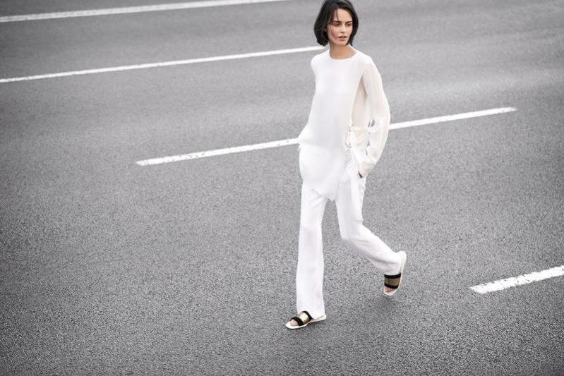 1. Marta Dyks w lookbooku Zara Woman wiosna 2014