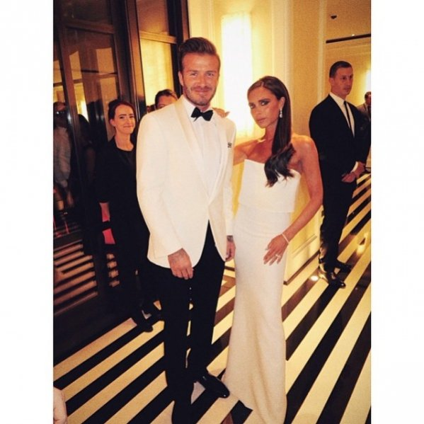 1. Met Ball 2014 - Victoria i David Beckham