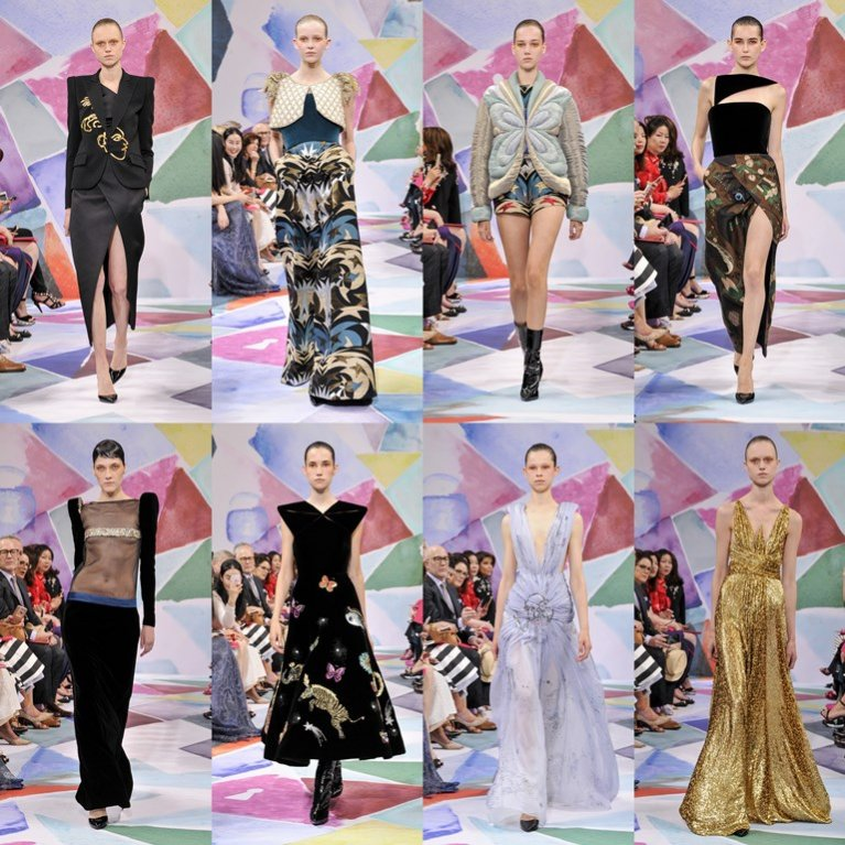 Schiaparelli haute couture jesień zima 2016