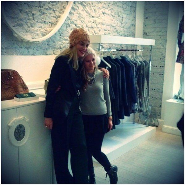 Sharon Stone w butiku Bizuu