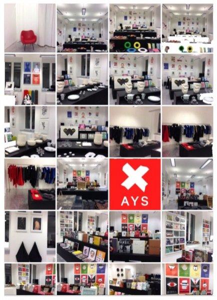 Trzecia edycja pop-up shop X AYS na ul. Pięknej 19
