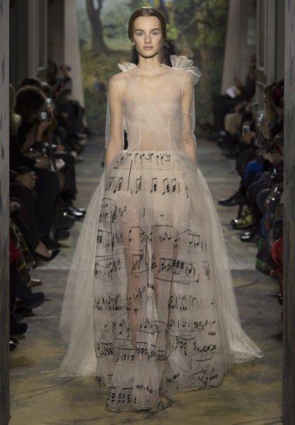 1. Pokaz Valentino haute couture wiosna lato 2014