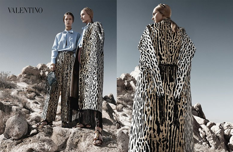 1. Kampania domu mody Valentino na sezon wiosna lato 2014
