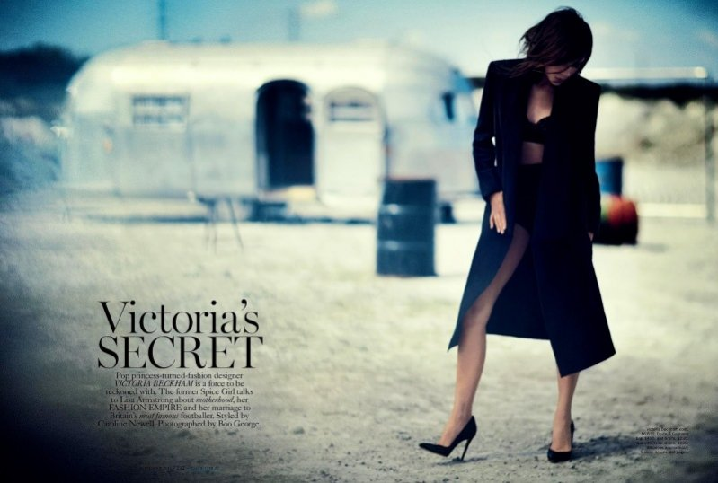 Victoria Beckham dla wrześniowego Vogue Australia
