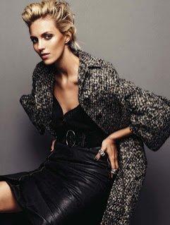 Anja Rubik i Kasia Struss dla wrześniowego Vogue Germany 2013