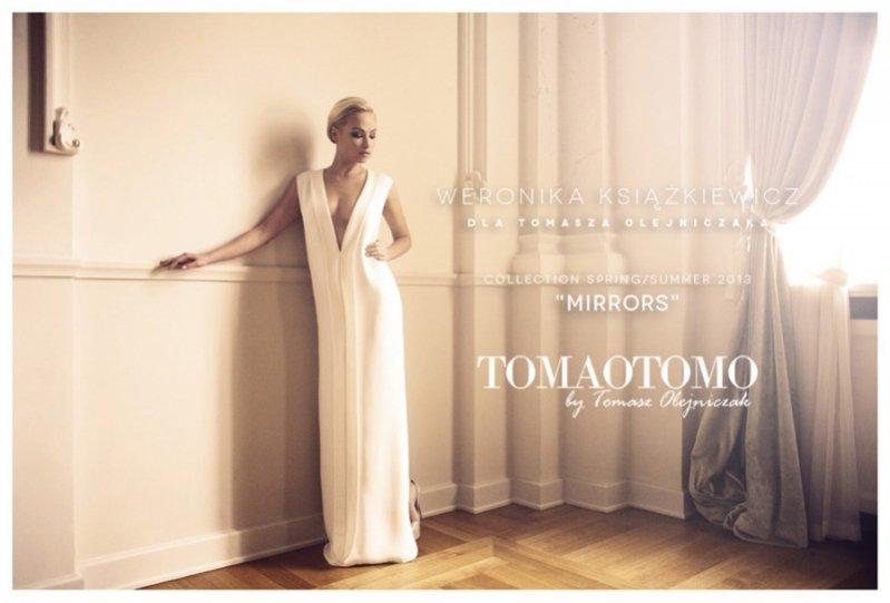 Weronika Książkiewicz w kampanii Tomaotomo wiosna lato 2013