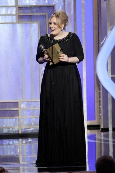 13. 01 - Złoty Glob dla Adele za piosenkę do filmu Skyfall