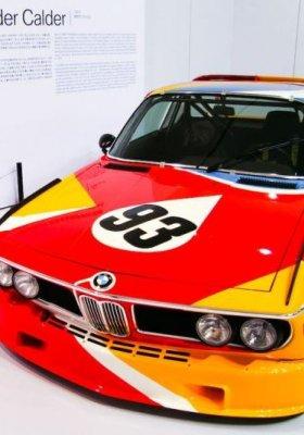 WYSTAWA BMW – SZTUKA NA CZTERECH KÓŁKACH W WARSZAWSKIM CSW