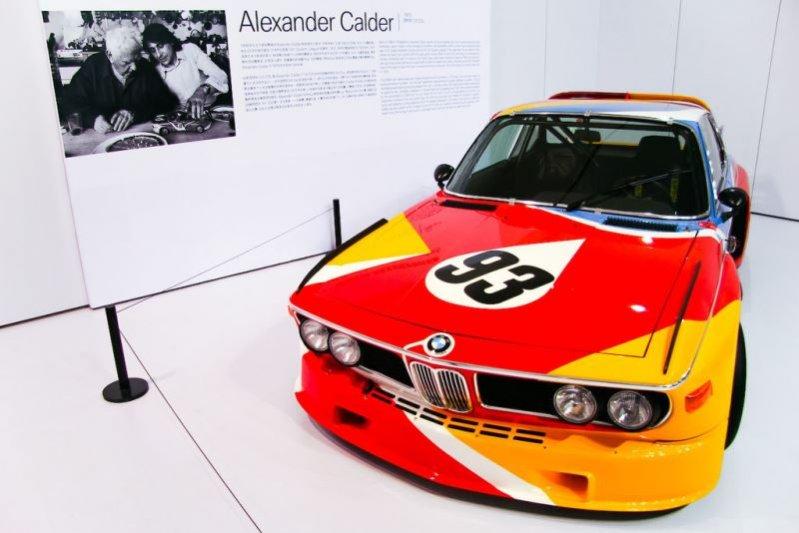 1. WYSTAWA BMW – SZTUKA NA CZTERECH KÓŁKACH W WARSZAWSKIM CSW
