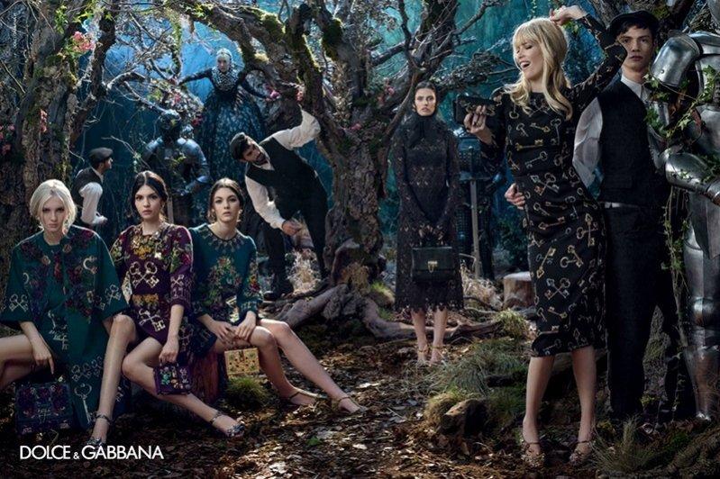 1. Kampania Dolce & Gabbana jesień/zima 2014