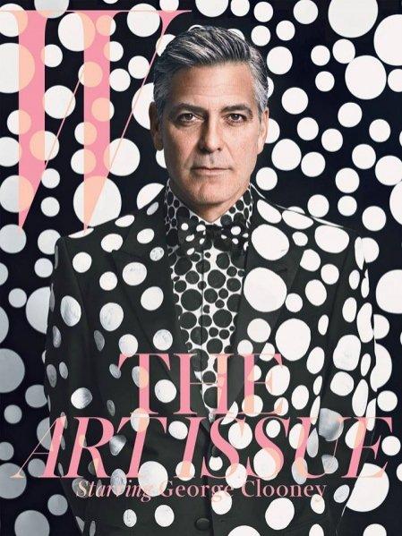 1. George Clooney na okładce grudniowego