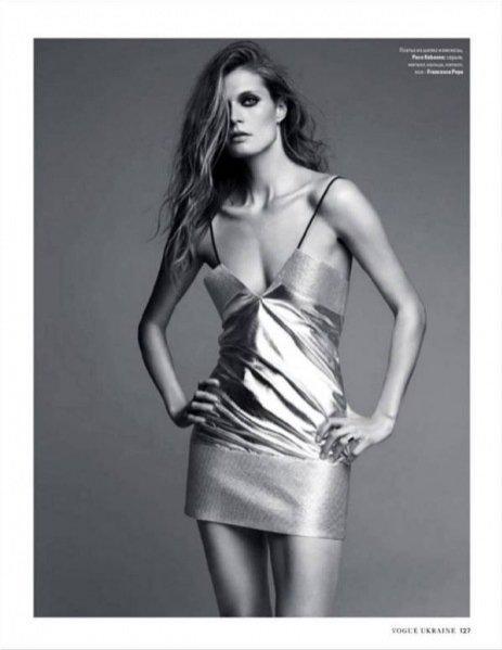 1. Małgosia Bela dla Vogue Ukraine lipiec 2014