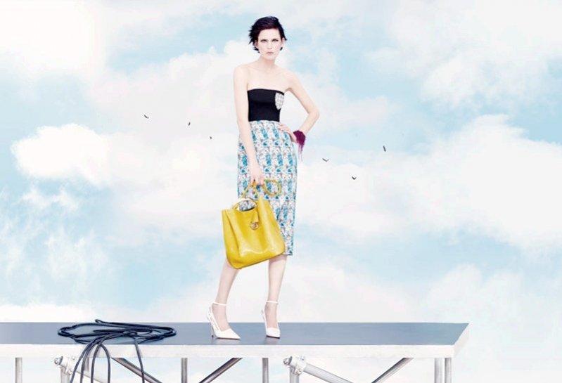 1. Kampania domu mody Dior wiosna lato 2014